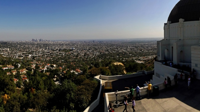 View from Los Angeles Observatory - Some rights reserved by Slices of Light