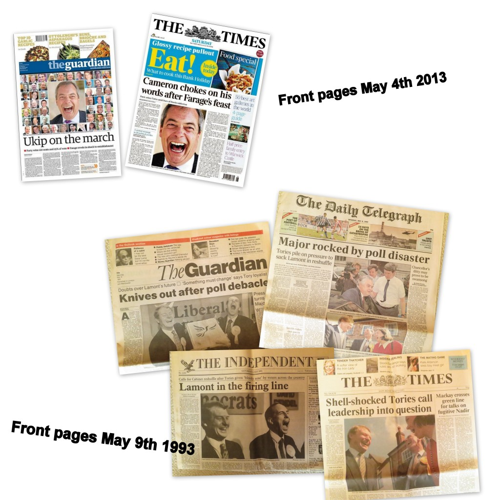 93 13 front pages