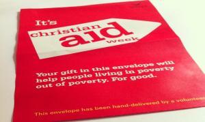 Christian Aid Week envelope 2012