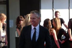 Gary Lineker at the BAFTA's