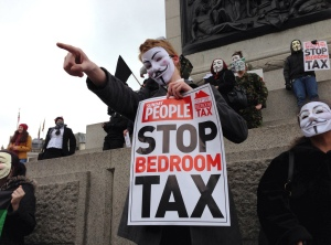 Bedroom tax demo , all the photos taken with a iphone 5