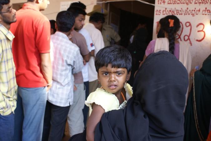 Bangalore voting