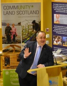 FM, Alex Salmond Address